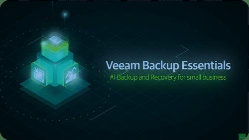 Veeam Backup Essentials videobackground
